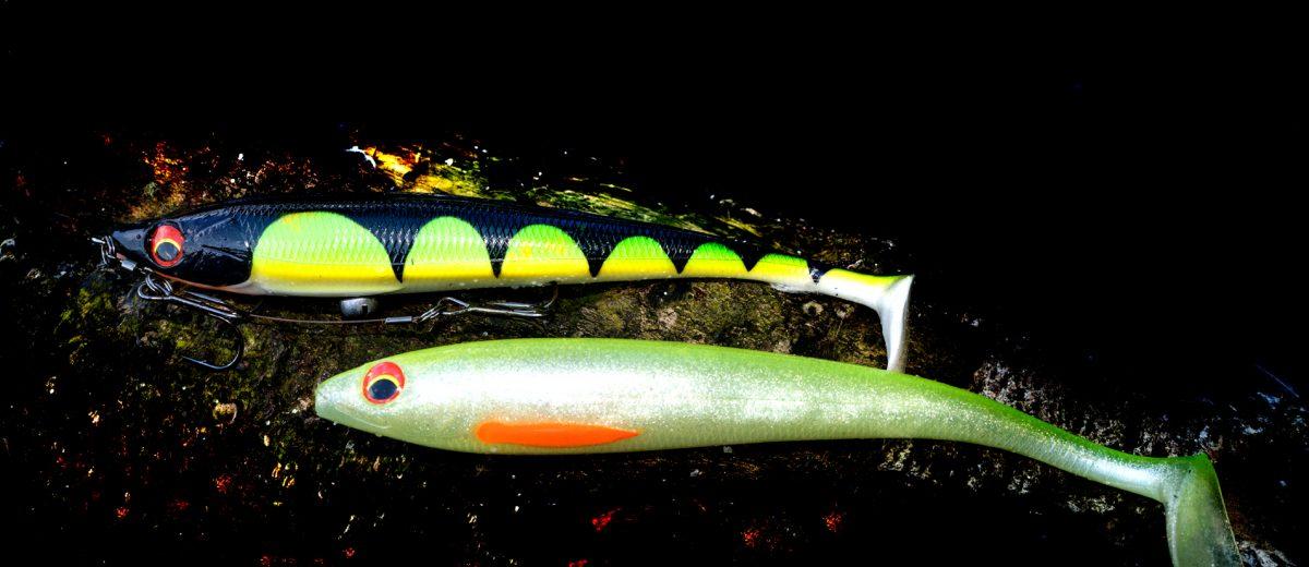 Prorex Duckfin Shad XL - Lime Ghost - Daiwa