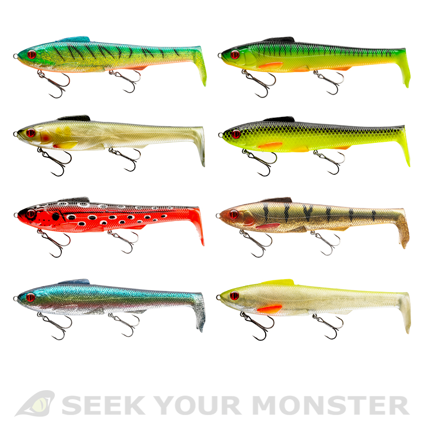 PROREX - DAIWA Hollow Lunker - Trolling Lure - 25cm -Softlure