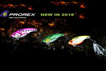 Prorex Lure Novelties 2018 by DAIWA